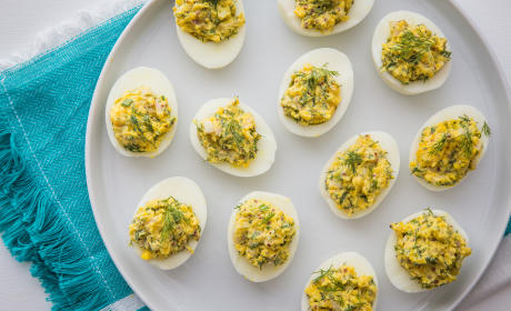 Herbed Deviled Eggs Recipe