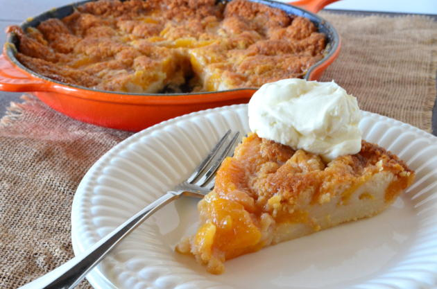 Easy Peach Cobbler Photo