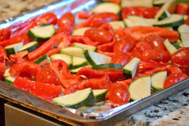 Roasted Vegetable Tortellini Picture