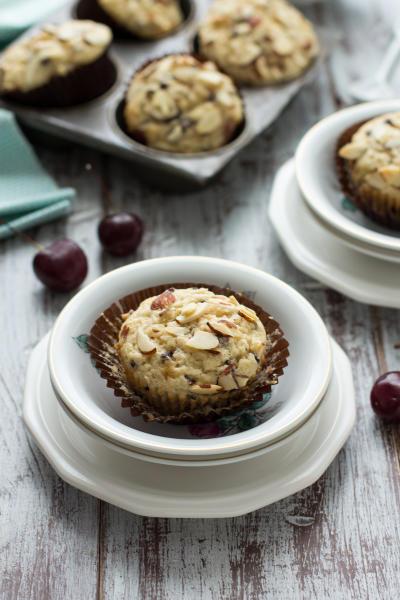 Cherry Chocolate Chip Muffins Image