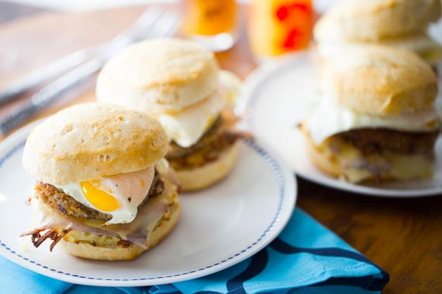 Goetta Breakfast Sandwich Photo