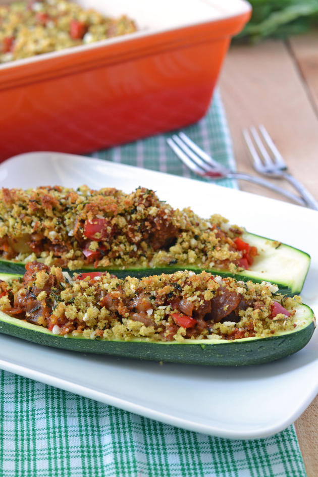 Stuffed Zucchini BoatsBaked with Summer FlavorsFood Fanatic