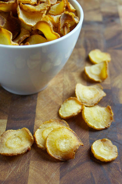 Baked Parsnip Chips Image