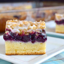 Blueberry Cream Coffee Cake Recipe