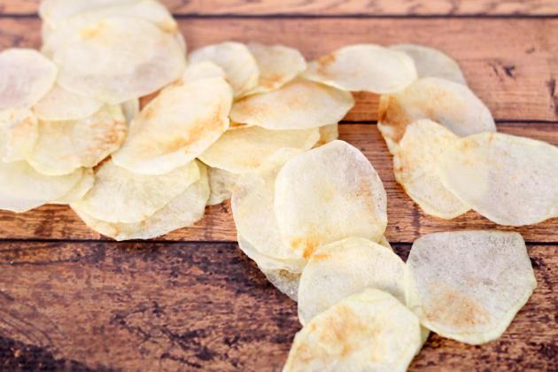 Homemade Lay's Potato Chips Photo