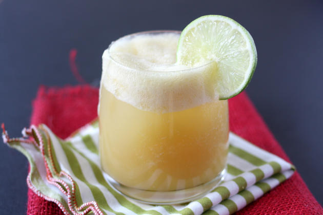 Pineapple Rum Cocktail Photo
