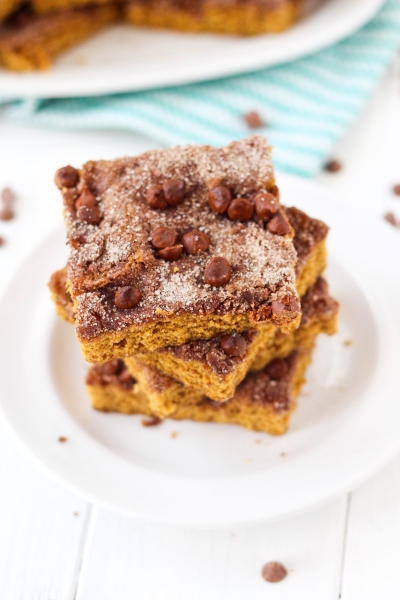 Pumpkin Snickerdoodle Snack Cake Picture