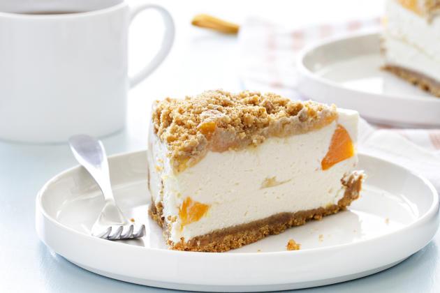 Peaches and Cream Pie Photo