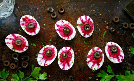Deviled Egg Eyeballs Recipe