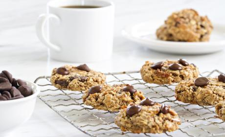 Chocolate Almond Breakfast Cookies