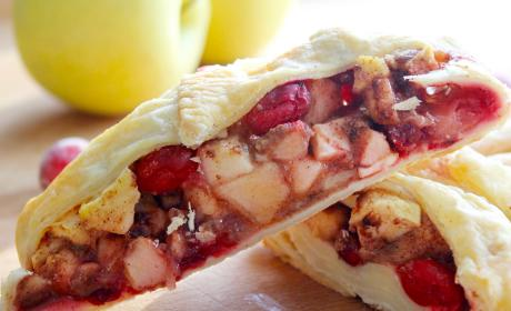 Cranberry Apple Strudel