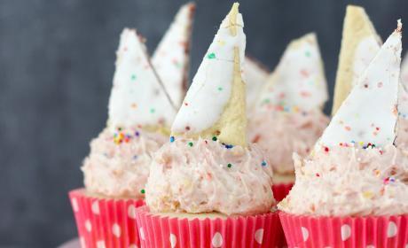Pop Tart Cupcakes
