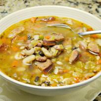 Sausage Bean Soup Recipe