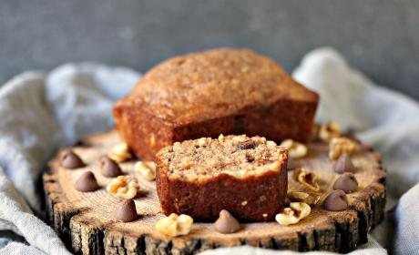 Peanut Butter Chocolate Banana Bread Recipe
