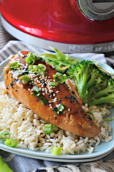 Slow Cooker Ginger Sesame Chicken Picture