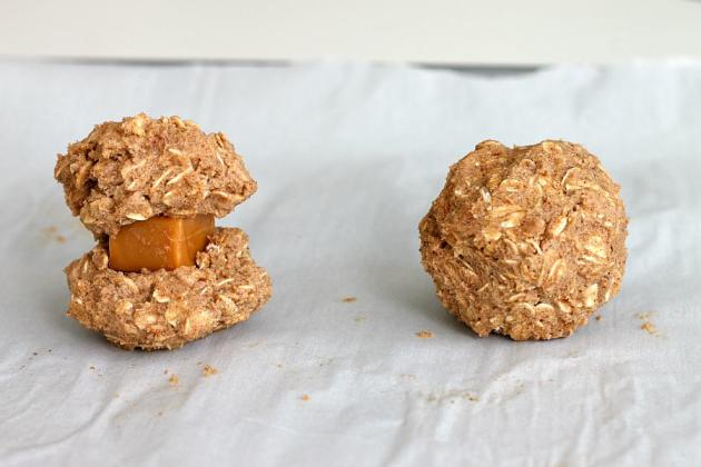 Caramel Apple Oatmeal Cookies Pic