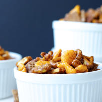 Sweet and Spicy Snack Mix Recipe