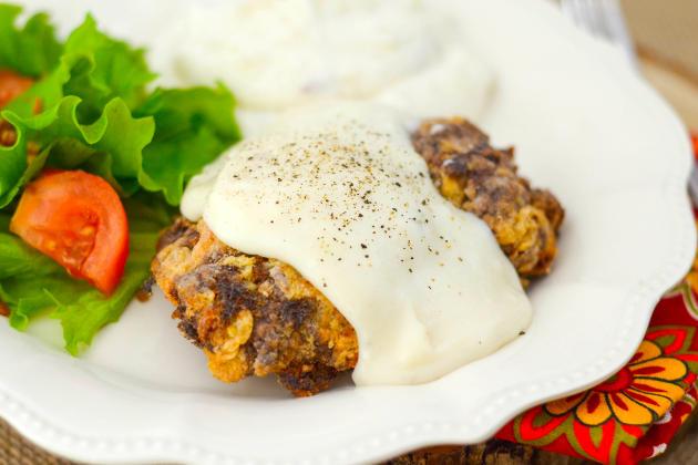 Gluten Free Chicken Fried Steak Photo
