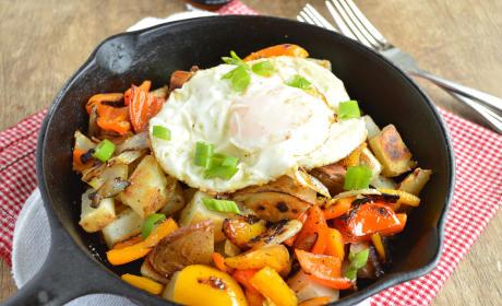 Easy Potato Breakfast Skillet Recipe