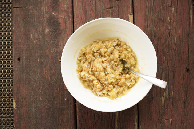 Apple Cider Oatmeal Picture