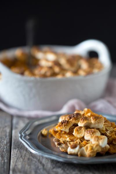 Vanilla Sweet Potato Casserole Image