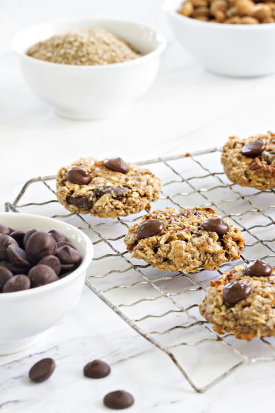 Chocolate Almond Breakfast Cookies Image