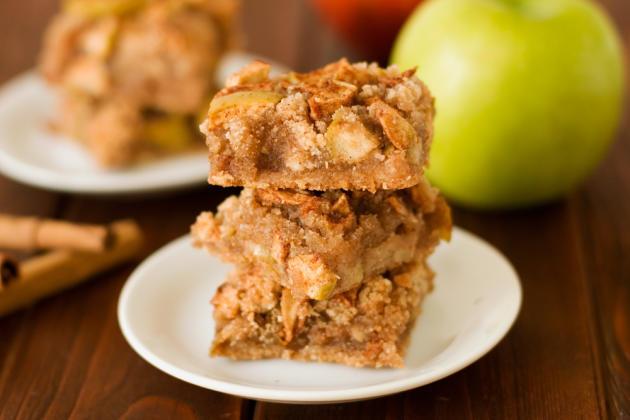 Gluten Free Apple Pie Bars Photo