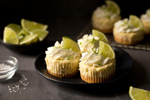Mini Margarita Cheesecakes Image