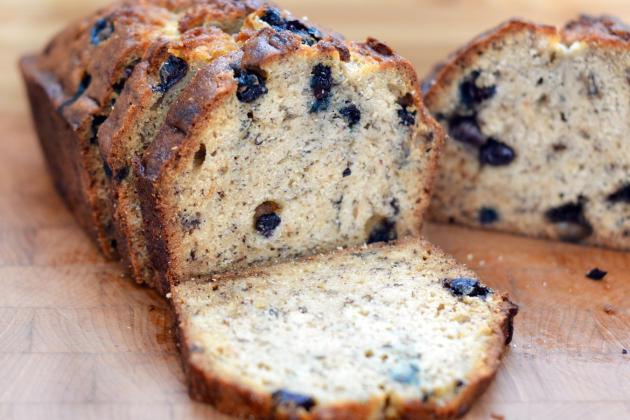 Blueberry Banana Bread Photo