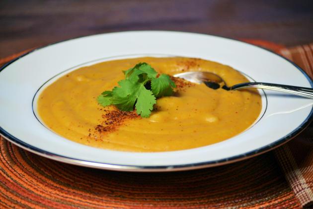 Vegan Potato Soup Photo