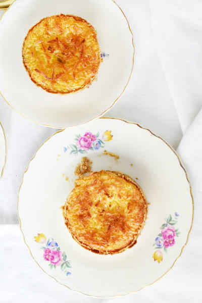 Toasted Coconut Cream Tarts Picture