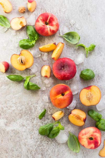 Basil Peach Agua Fresca Picture