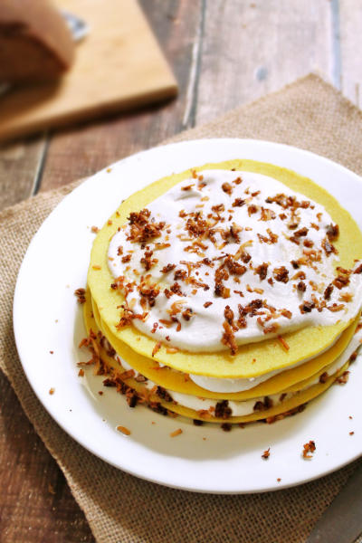 Gluten Free Coconut Pancakes Picture