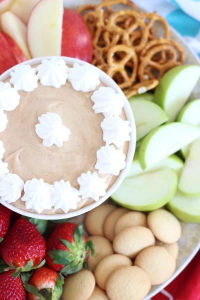 5-Minute Peanut Butter Dip Pic