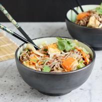 Sesame Tofu Noodles Recipe