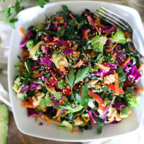 Detox Kale Salad Recipe