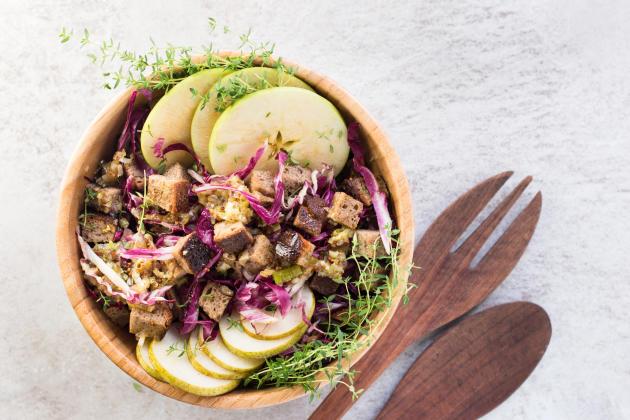 Fall Panzanella Salad Photo