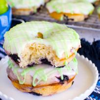 Blueberry Key Lime Donuts Recipe