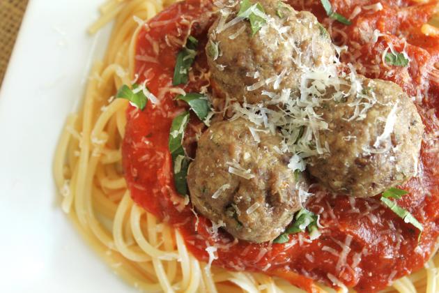 Gluten Free Italian Meatballs Photo