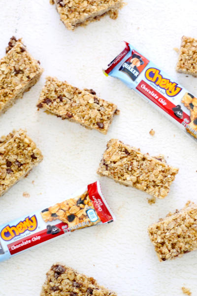 Homemade Chewy Granola Bars Picture