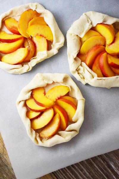 Bourbon Peach Galette Image