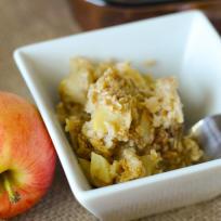 Gluten Free Baked Caramel Apple Oatmeal Recipe