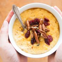 Cranberry Pumpkin Oatmeal Recipe