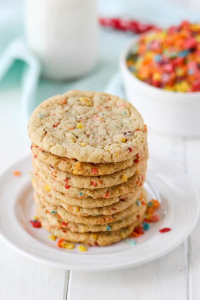 Fruity Pebbles Sugar Cookies Picture