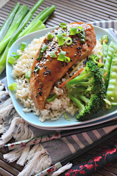 Slow Cooker Ginger Sesame Chicken Pic