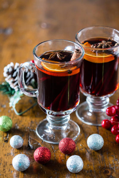 Spiced Mulled Wine Image