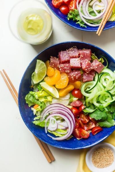 Tuna Ceviche Bowls Image