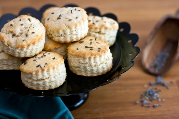 Lavender Biscuits Photo