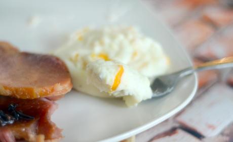 Cheesy Baked Mashed Potatoes Photo