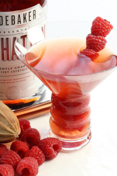 Raspberry Manhattan Picture